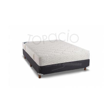 Colchon/sommier Topacio Simetric DOUX Resortes +Espuma Sensación Firme 080x190