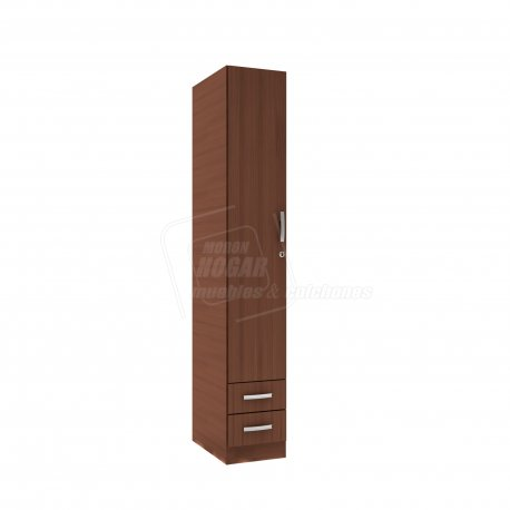 Placard - Organizador 1 Puerta 2 Cajones con LLAVE