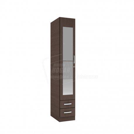 Organizador - Placard Premium 1 puerta con ESPEJOS y CERRADURA
